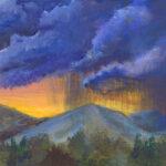 Student artwork landscape Sean Madey '17