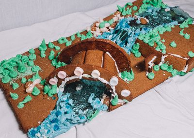 Paike gingerbread contest entry front view