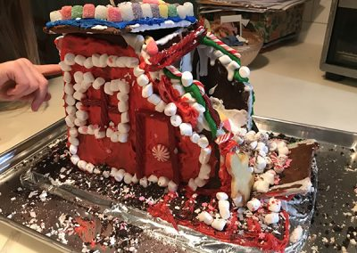 Brodsky gingerbread contest entry front view