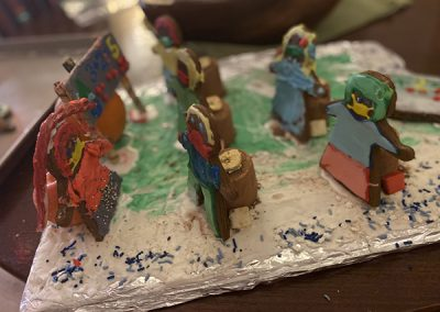 Haley gingerbread contest entry side view
